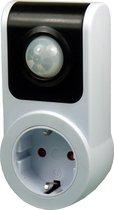 Ecosavers PIR Sensor Socket | NIET geschikt voor Belgie | Infrarode Schakelaar |Schakelt aan en uit op beweging | Bewegingsschakelaar | GS-keurmerk