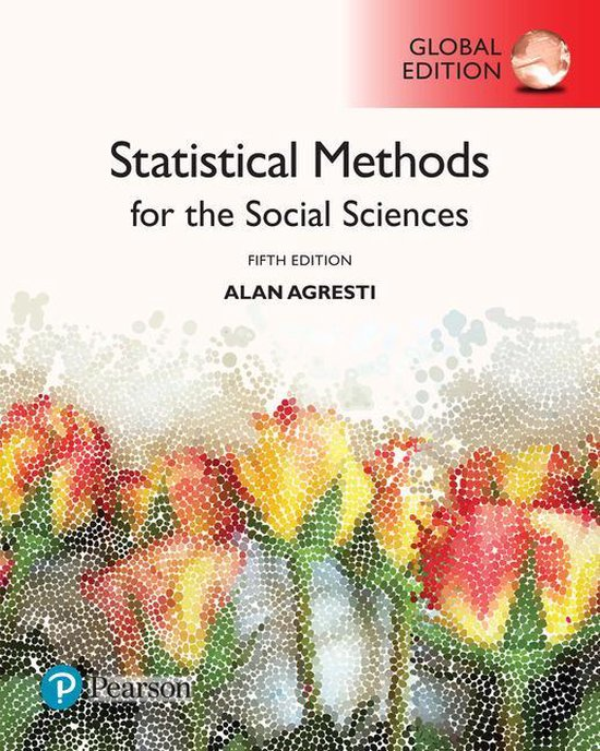 Afbeelding van Statistical Methods for the Social Sciences, Global Edition