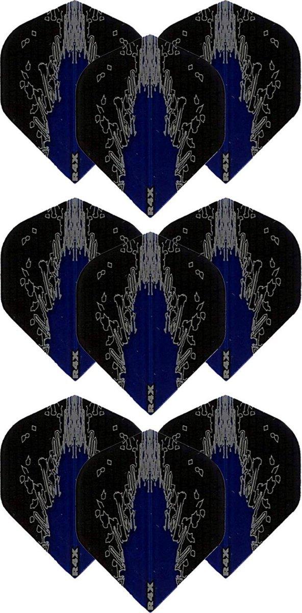 Dragon Darts - High Impact - 3 sets (9 stuks) - darts flights - Best Getest - Blauw