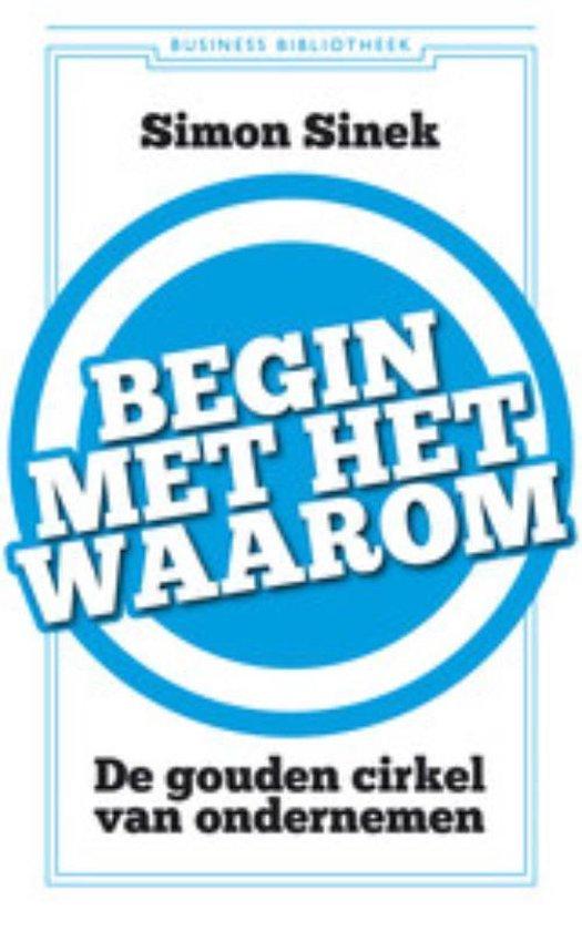 Cover van het boek 'Begin Met Het Waarom'