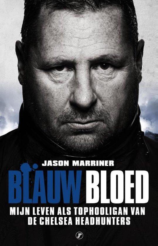 Boek cover Blauw bloed van Jason Marriner (Paperback)