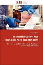 Industrialisation Des Connaissances Scientifiques