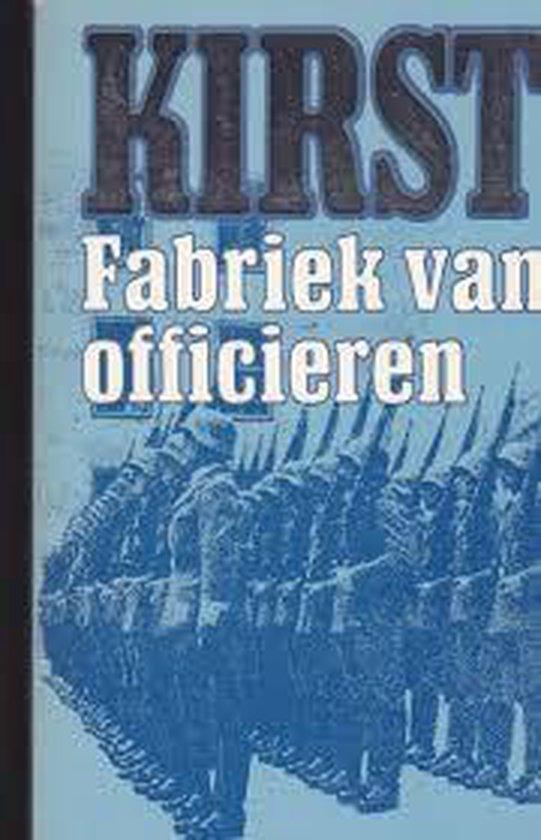 Fabriek van officieren - Hans Hellmut Kirst pdf epub