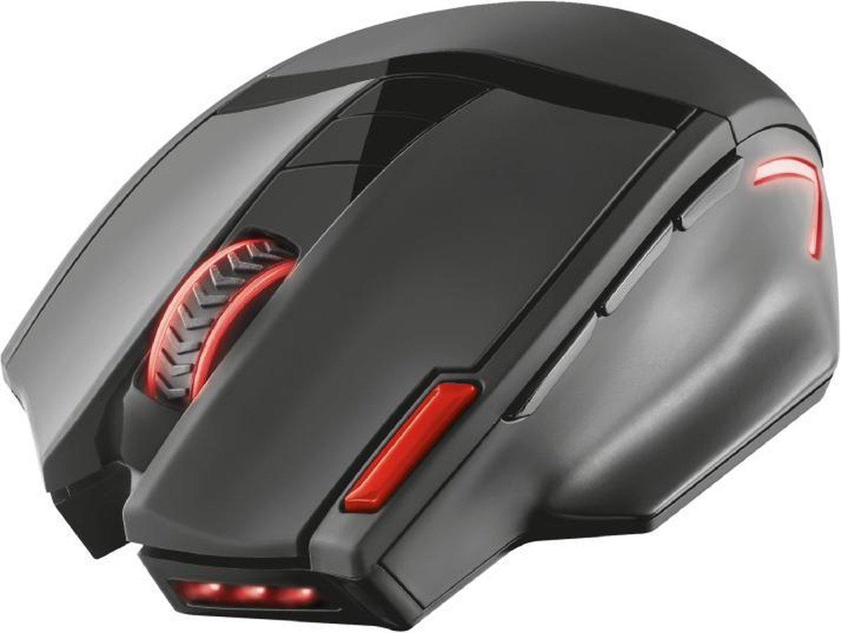 Trust GXT 130 Ranoo - Draadloze Gaming Muis / Zwart