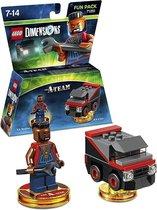 Warner Bros LEGO Dimensions: The A Team Fun Pack