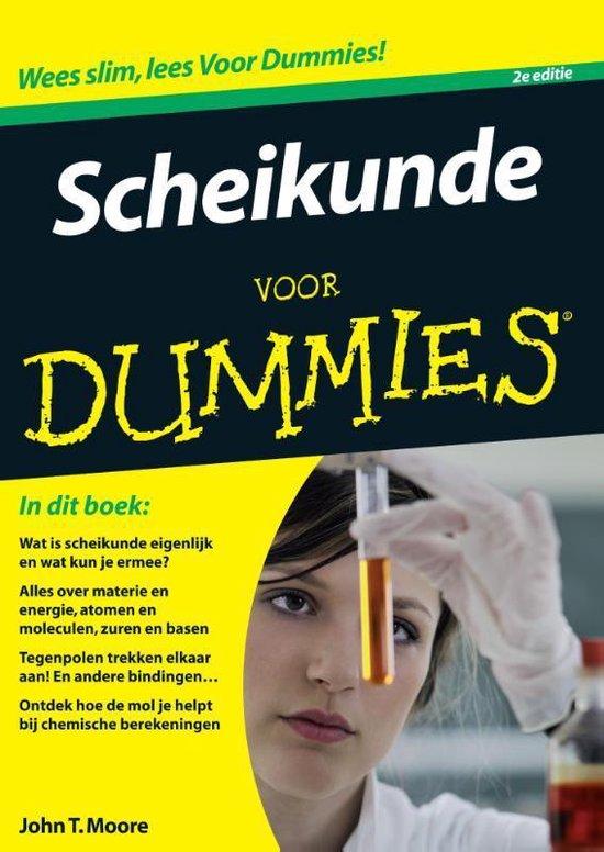 Scheikunde voor Dummies - John T. Moore |