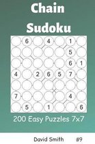 Chain Sudoku - 200 Easy Puzzles 7x7 Vol.9