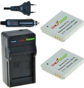ChiliPower NB-6L Canon Kit - Camera Batterij Set