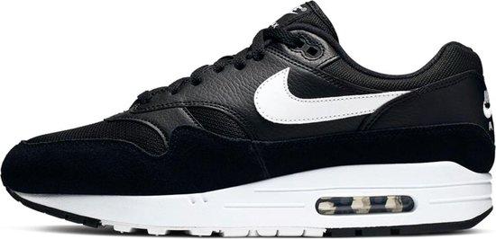 Nike Air Max 1 Sneakers - Maat 42 - Mannen - zwart/wit