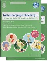 Delen 1 en 2 - Taalverzorging en Spelling Cito Oefenboeken Set Deel 1 en 2
