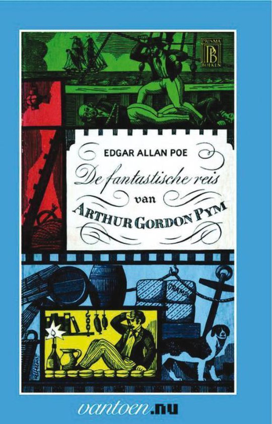 De fantastische reis van Arthur Gordon Pym - Edgar Allan Poe | Readingchampions.org.uk