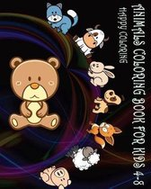 Animals Coloring Book for Kids 4-8