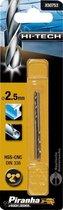 Piranha HI-TECH metaalboor 2x 2,5mm X50753