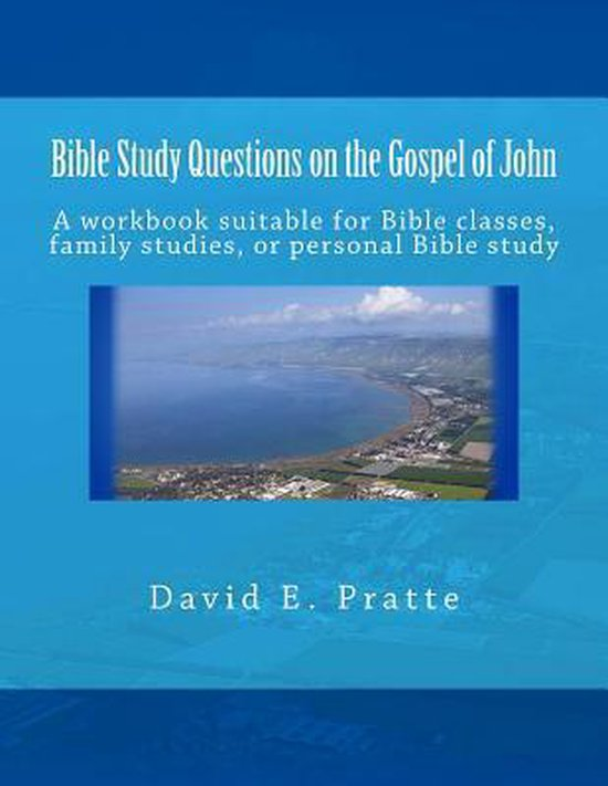 Boek cover Bible Study Questions on the Gospel of John van David E Pratte (Paperback)