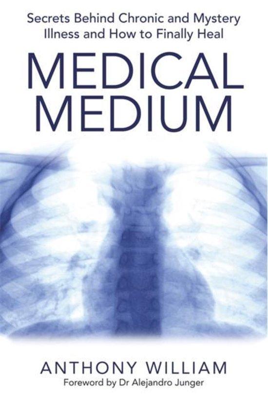 Boek cover Medical Medium van Anthony William (Paperback)