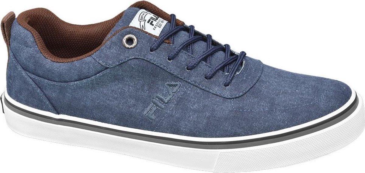 Fila Heren Blauwe canvas sneaker Maat 46