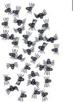 Akyol Halloween nep spinnen   Nep spinnen   Halloween   30 stuks   Zwart   halloween nep spinnen - spinnen 30 stuks -nep spinnen zwart