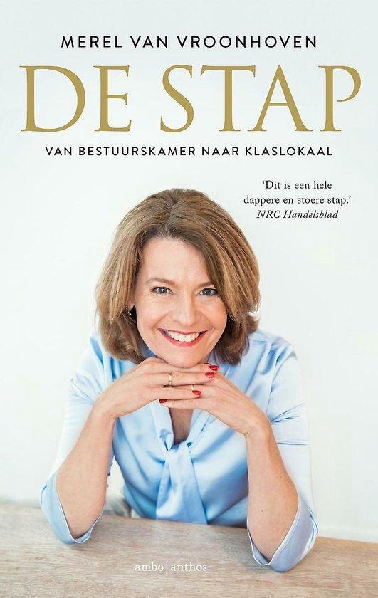 Boek cover De stap van Merel van Vroonhoven (Paperback)