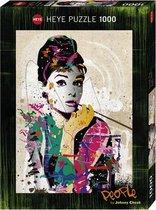 Heye Puzzel Audrey Hepburn 1000st