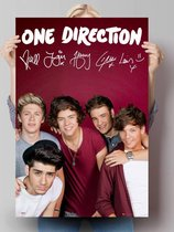Poster - One Direction - maroon