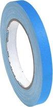 Pro  - Gaff neon gaffa tape 12mm x 22,8m blauw