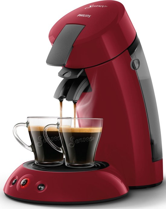 Philips Senseo Original HD6553/80 - Koffiepadapparaat - Rio rood
