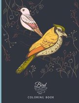Bird Illustration Coloring Book