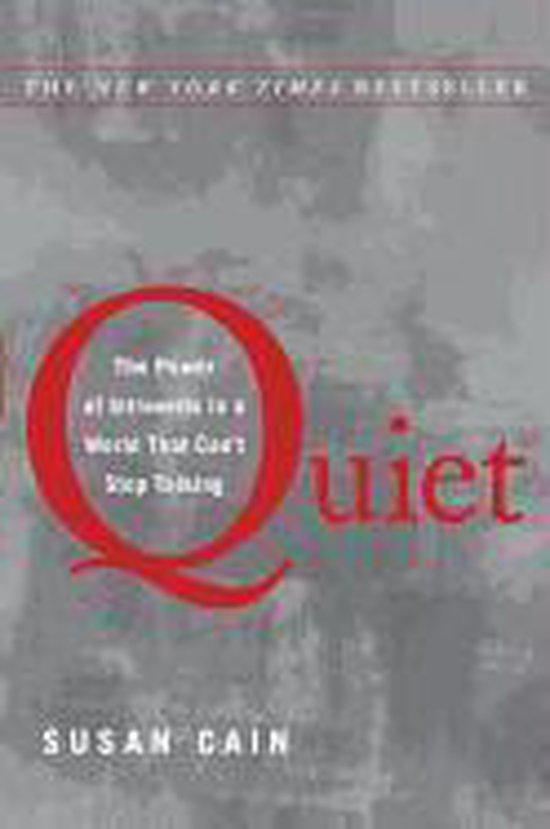 Boek cover Quiet van Susan Cain (Hardcover)