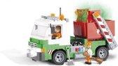 Cobi vuilnisauto bouwstenen set