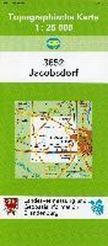 Jacobsdorf 1 : 25 000