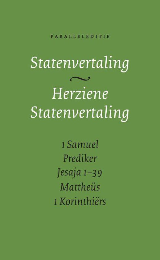 Statenvertaling - Herziene Statenvertaling - Cm 13X21 pdf epub