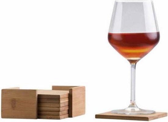 Onderzetters bamboe   Onderzetter glas   Onderzetters hout   Glazen