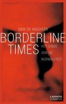 Boek cover Borderline times van Dirk De Wachter