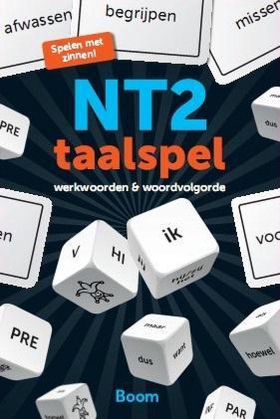 Boek cover NT2 taalspel van Saarein Te Brake (Onbekend)