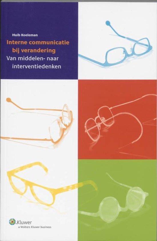 Cover van het boek 'Interne communicatie bij verandering / druk 2'