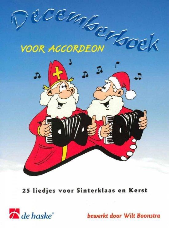 Decemberboek voor accordeon - Traditional |