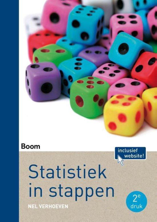 Afbeelding van Statistiek in stappen