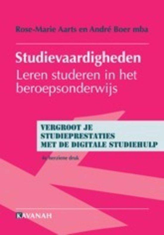 Studievaardigheden + Digitale studiehulp - R.M. Aarts |