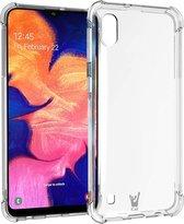 Samsung Galaxy A10 Hoesje Transparant - Shock Proof Siliconen Case