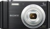 Sony Cybershot DSC-W800 - Zwart