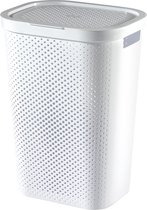 Curver Infinity Dots Wasmand - 60 l - Wit
