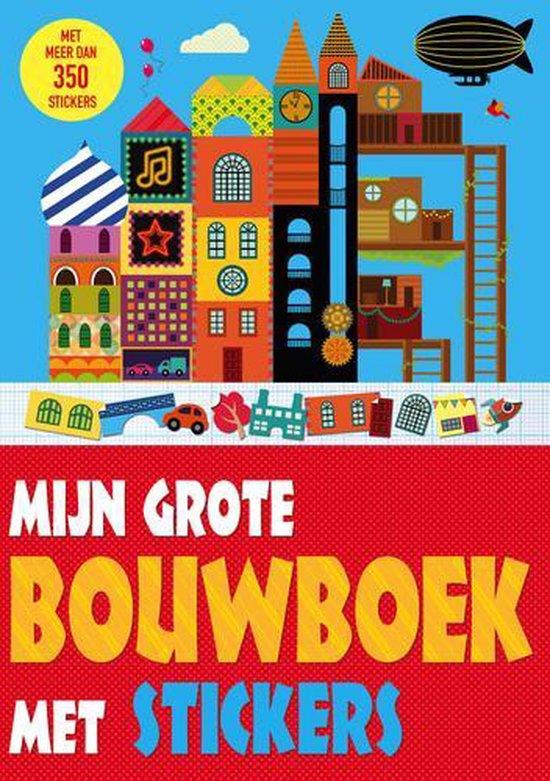 Mijn grote bouwboek met stickers - Lauren Farnsworth  