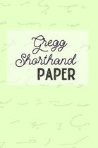 Gregg Shorthand Paper