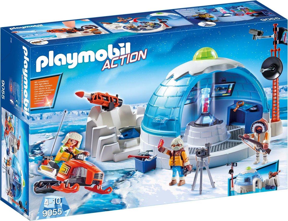 Playmobil Action: Hoofdkwartier Poolexpeditie (9055)