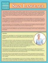 Sign Language (Speedy Study Guide)