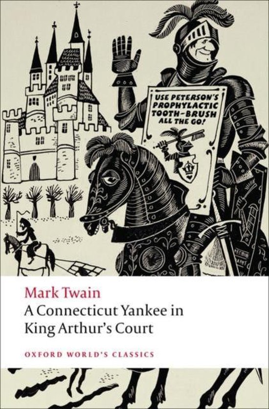 Boek cover A Connecticut Yankee in King Arthurs Court van Mark Twain (Paperback)