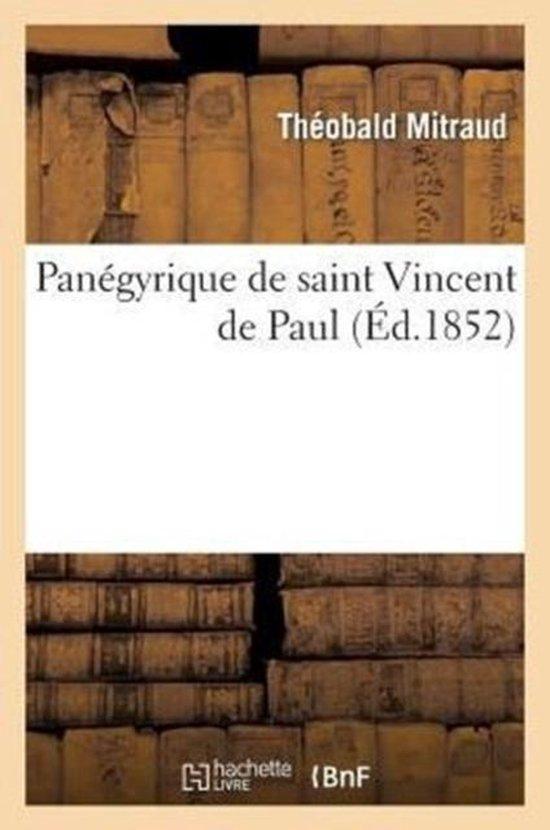 Panegyrique de saint Vincent de Paul