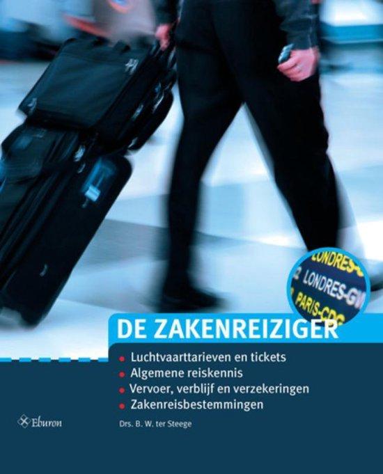 Cover van het boek 'De Zakenreiziger / druk 6'