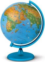 Wereldbol - Globe met verlichting 25 cm