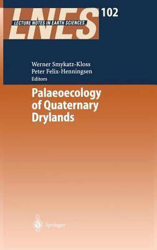 Boek cover Palaeoecology of Quaternary Drylands van  (Hardcover)